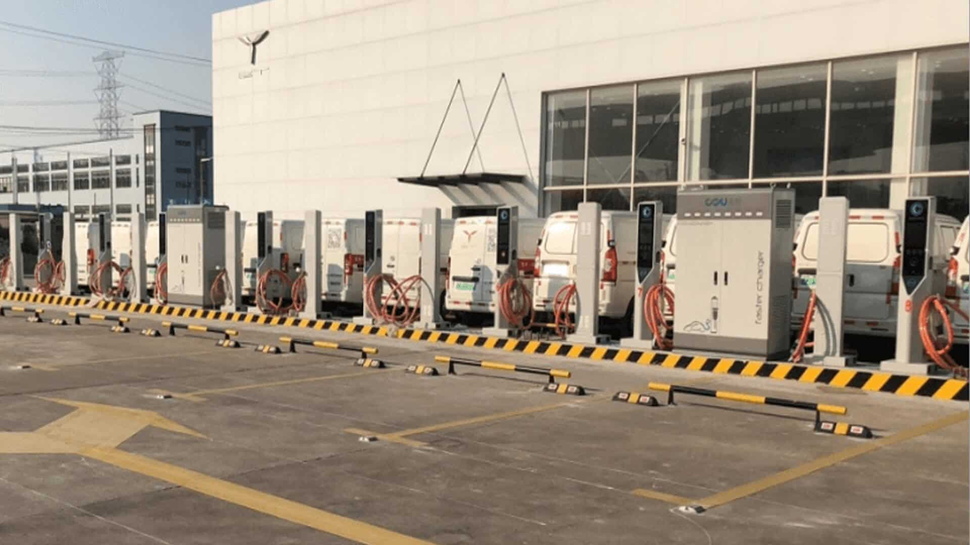 PV & ESS in new energy charging station