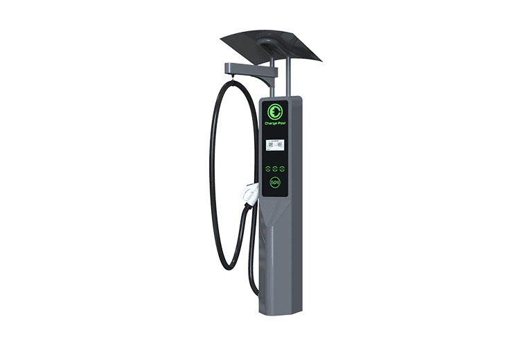 charge post of ev charging stack